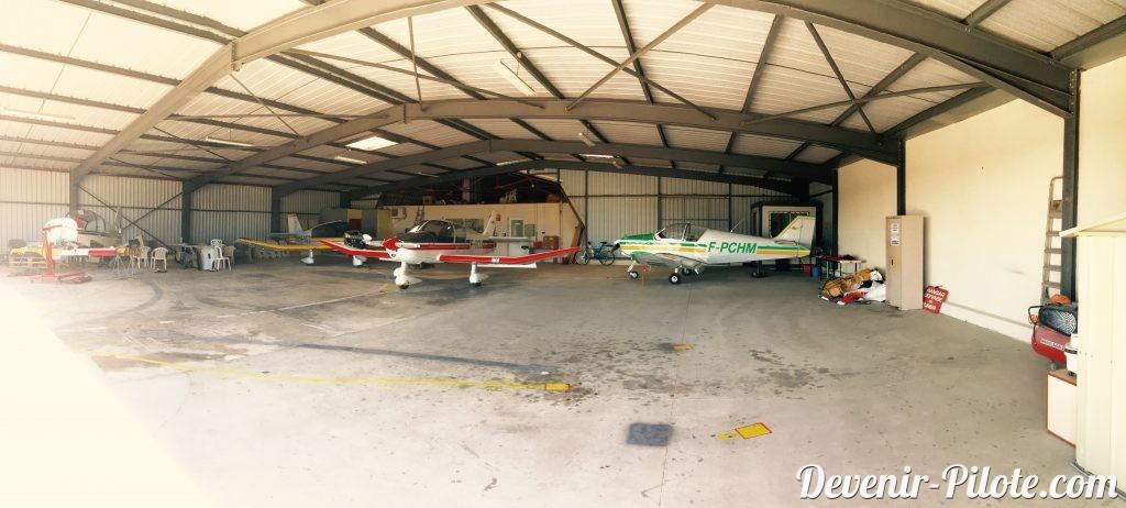 Aéroclub de Montpellier où nous passerons notre PPL