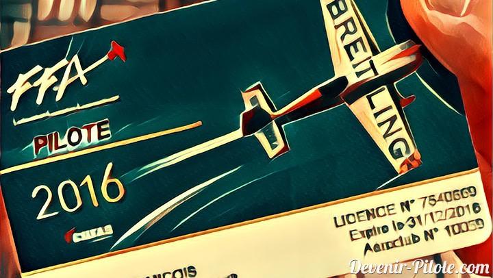 Nos licences de pilotes sont arrivées !!!