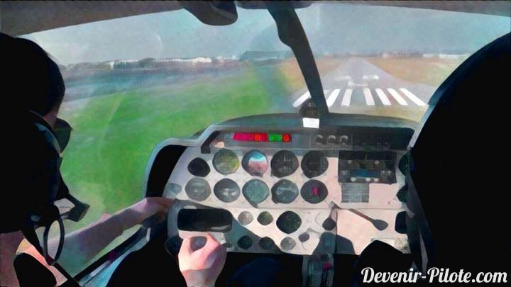 Arrondi en avion et tours de piste (Jour 12)