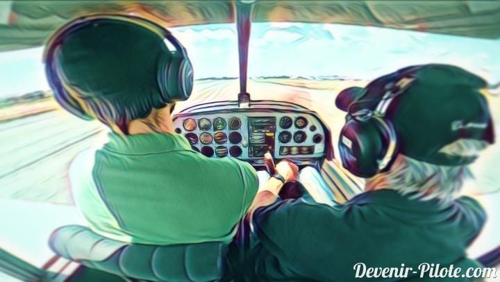 Jour 21 – Vol avec le superviseur de notre Instructeur