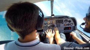 PPL - apprendre à piloter - virage à grande inclinaison