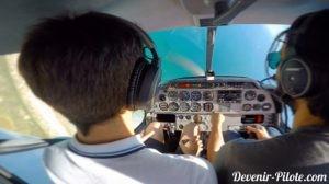 PPL - apprendre à piloter - virage engagé