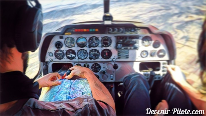 Navigation aérienne : préparation Nav VFR vers LFNU