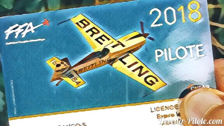 licence pilote fédération française aéronautique 2018