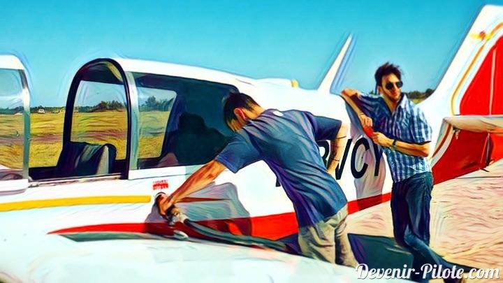 Bilan Carburant pour un vol VFR (Jour 30)