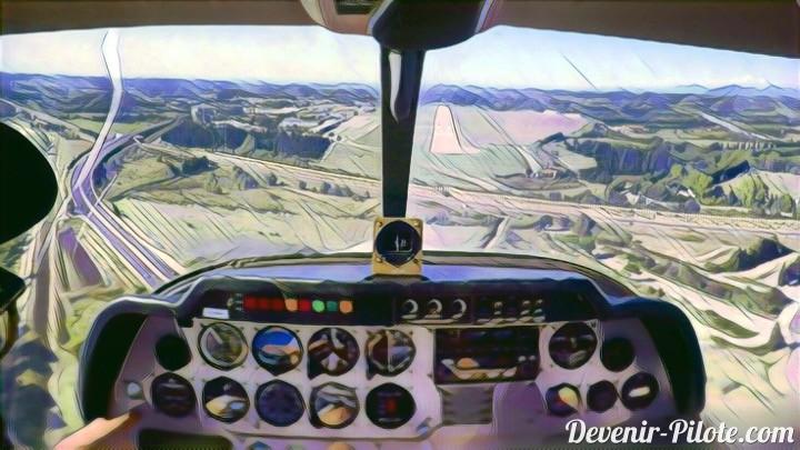 Navigation aérienne improvisée vers Avignon LFMV (Jour 35)
