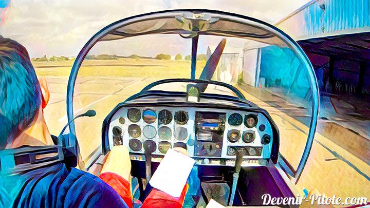 Première Navigation VFR en solo dans un DR400