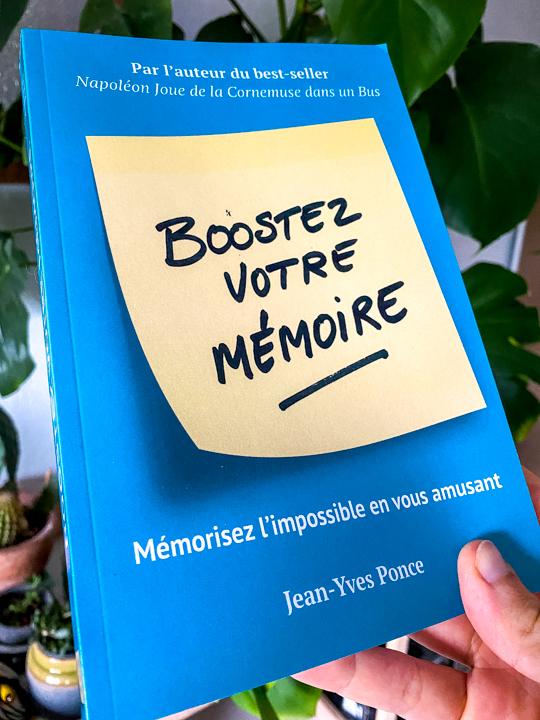 Boostez votre memoire par Jean Yves Ponce